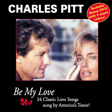 Charles Pitt - Be My Love - CD/DVD Cover