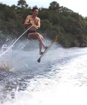 Water Skiing Jump
